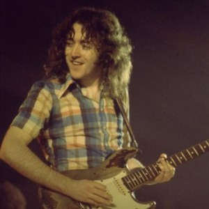 Rory Gallagher and his 1961 Fender Stratocaster